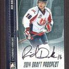 2014 ITG Hockey Draft Prospects AUTOGRAPH  Reid Duke  #A-RD1