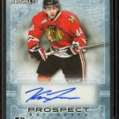 2014-15 ITG Leaf Heroes & Prospects AUTOGRAPH  #47  Keoni Texeira  4/80