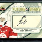 2011-12 ITG Between the Pipes Goaliegraph Autograph #A-JC   Jack Campbell