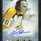 2014-15 ITG Leaf Heroes & Prospects HEROES AUTOGRAPH  #04  Gerry Cheevers  24/25