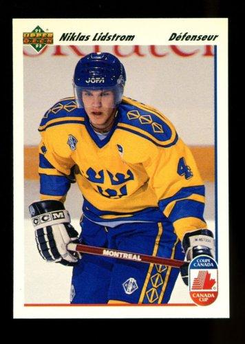 1991-92 Upper Deck Hockey  French  #26  Niklas Lidstrom