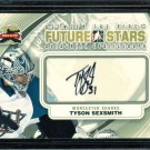 2011-12 ITG Between the Pipes Goaliegraph Autograph #A-TS   Tyson Sexsmith