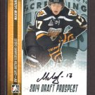 2014 ITG Hockey Draft Prospects AUTOGRAPH  Maxim Lazarev  #A-ML1