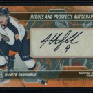 2013-14 ITG Heroes & Prospects AUTOGRAPH  Hunter Shinkaruk  A-HS  Auto