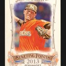 2015 Topps Allen & Ginter Starting Points  #SP-43  Jose Fernandez