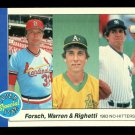 1984 Fleer Baseball  #639  1983 No-Hitters  Forsch  Warren  Righetti