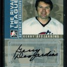2008-09 ITG BTP Between the Pipes Autograph  A-GD  Gerry Desjardins