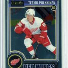 2014-15 OPC O-Pee-Chee Hockey Platinum Base  #195  Teemu Pulkkinen  RC