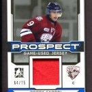 2014 ITG Leaf Hockey Draft Prospects Game Used Jersey Robby Fabbri PGU-25 64/75