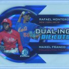 2014 Bowman Chrome Dual-ing Die Cuts #DDC-MFR  Rafael Montero  Maikel Franco
