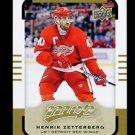 2015-16 Upper Deck MVP Hockey  High Number  SP  #115  Henrik Zetterberg