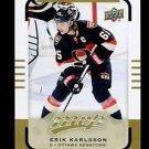 2015-16 Upper Deck MVP Hockey  High Number  SP  #116  Erik Karlsson
