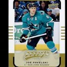 2015-16 Upper Deck MVP Hockey  High Number  SP  #145  Joe Pavelski