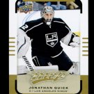 2015-16 Upper Deck MVP Hockey  High Number  #107  Jonathan Quick  SP