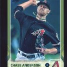 2015 Topps Baseball Series 2  GOLD Border Parallel  #506  Chase Anderson  /2015