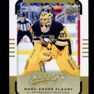 2015-16 Upper Deck MVP Hockey  High Number  SP  #119  Marc-Andre Fleury