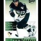 2001-02 UD Hockey Vintage  Team Leaders  #207  Pittsburgh Penguins  Alex Kovalev