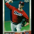 2015 Topps Baseball Pro Debut  #162  Chris Ellis