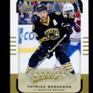 2015-16 Upper Deck MVP Hockey  High Number  SP  #150  Patrice Bergeron