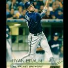 2015 Topps Baseball Stadium Club  GOLD Foil  #161  Ryan Braun