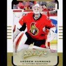 2015-16 Upper Deck MVP Hockey  High Number  SP  #155  Andrew Hammond