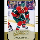 2015-16 Upper Deck MVP Hockey  High Number  SP  #160  Zach Parise