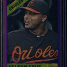 2015 Topps Heritage Baseball  Purple Refractor  #THC-470  Nelson Cruz