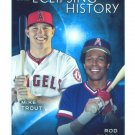 2015 Topps Baseball Series 2  Eclipsing History  Rod Carew  Mike Trout  #EH-7