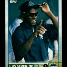 2015 Topps Baseball Pro Debut  #21  Luis Severino