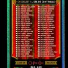 2015-16 OPC O-Pee-Chee Hockey  Rainbow Foil  #351  Checklist