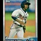 2015 Topps Baseball Pro Debut  #145  Ozhaino Albies