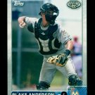 2015 Topps Baseball Pro Debut  #144  Blake Anderson