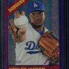 2015 Topps Heritage Baseball  Purple Refractor  #THC-443  Kenley Jansen