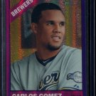2015 Topps Heritage Baseball  Purple Refractor  #THC-482  Carlos Gomez