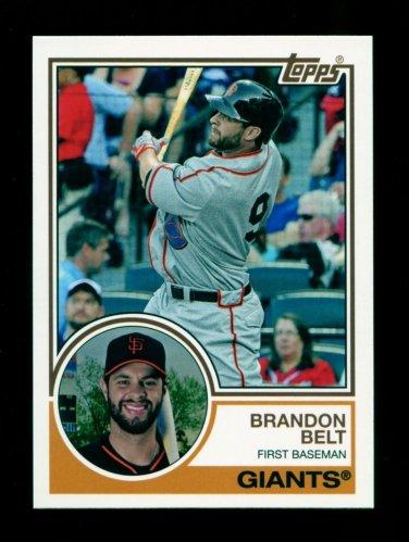 2015 Topps Baseball Archives  #239  Brandon Belt
