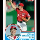 2015 Topps Baseball Archives  #269  Jordan Zimmerman