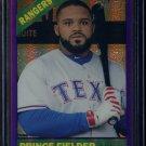 2015 Topps Heritage Baseball  Purple Refractor  #THC-430  Prince Fielder