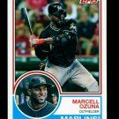 2015 Topps Baseball Archives  #221  Marcell Ozuna