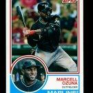 2015 Topps Baseball Archives  #221  Marcell Ozuna