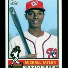 2015 Topps Baseball Archives  #135  Michael Taylor  RC