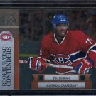 2010-11 Panini Playoff Contenders  Rookie of the Year  #13  P.K. Subban