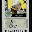 2008-09 ITG Heroes & Prospects Autograph Draft Day Pick  Scott Glennie  #A-SG