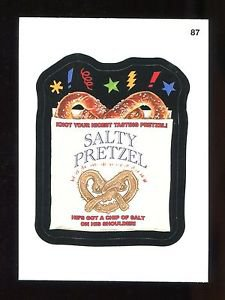 2016 Topps MLB Wacky Packages  #87  Salty Pretzel