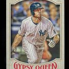 2016 Topps Gypsy Queen Baseball  Base  #112  Brett Gardner