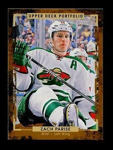 2015-16 Upper Deck Portfolio Hockey  Base  #113  Zach Parise
