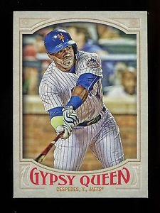 2016 Topps Gypsy Queen Baseball  Base  #165  Yoenis Cespedes