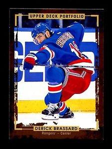 2015-16 Upper Deck Portfolio Hockey  Base  #172  Derick Brassard
