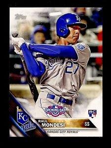 2016 Topps Opening Day Baseball  #OD-32  Raul Mondesi