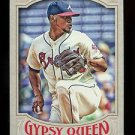 2016 Topps Gypsy Queen Baseball  Base  #211  Julio Teheran