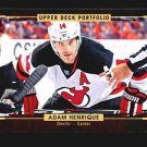2015-16 Upper Deck Portfolio Hockey  Base  #132  Adam Henrique